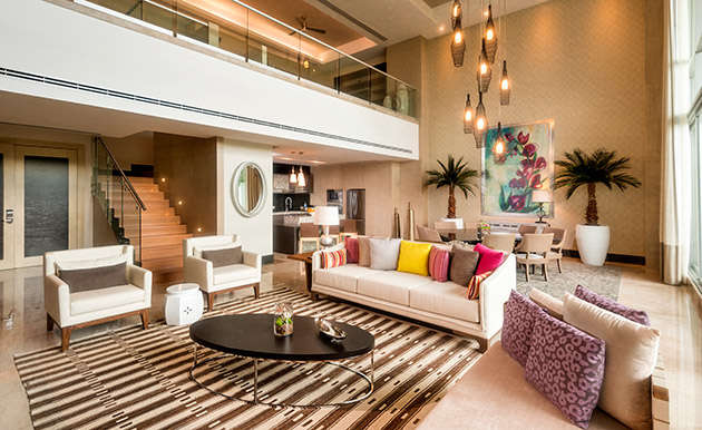 Luxury vacation rentals mexico - Riviera maya - Playa del carmen - 3 Bedroom Loft Residence | Grand Luxxe - Image 1/7