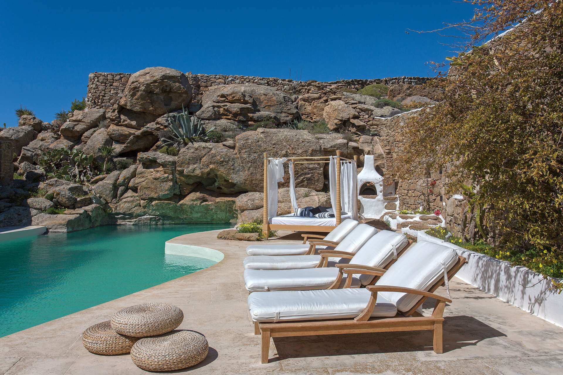 Luxury vacation rentals europe - Greece - Mykonos - Super paradise - Villa Delilah - Image 1/28