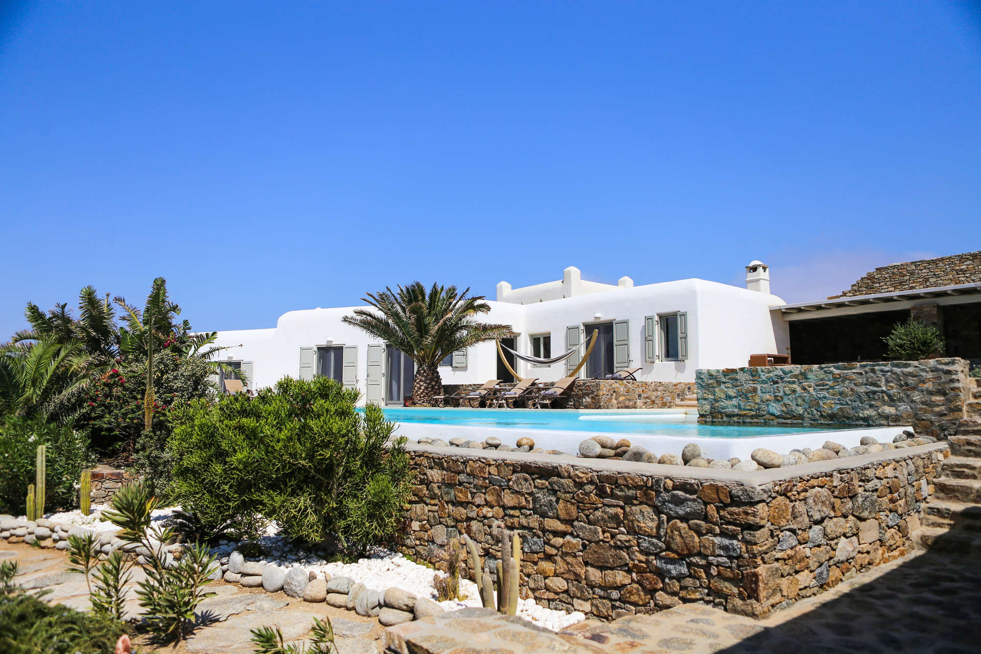 Luxury vacation rentals europe - Greece - Mykonos - Agios stefanos - Casa di Mare - Image 1/26