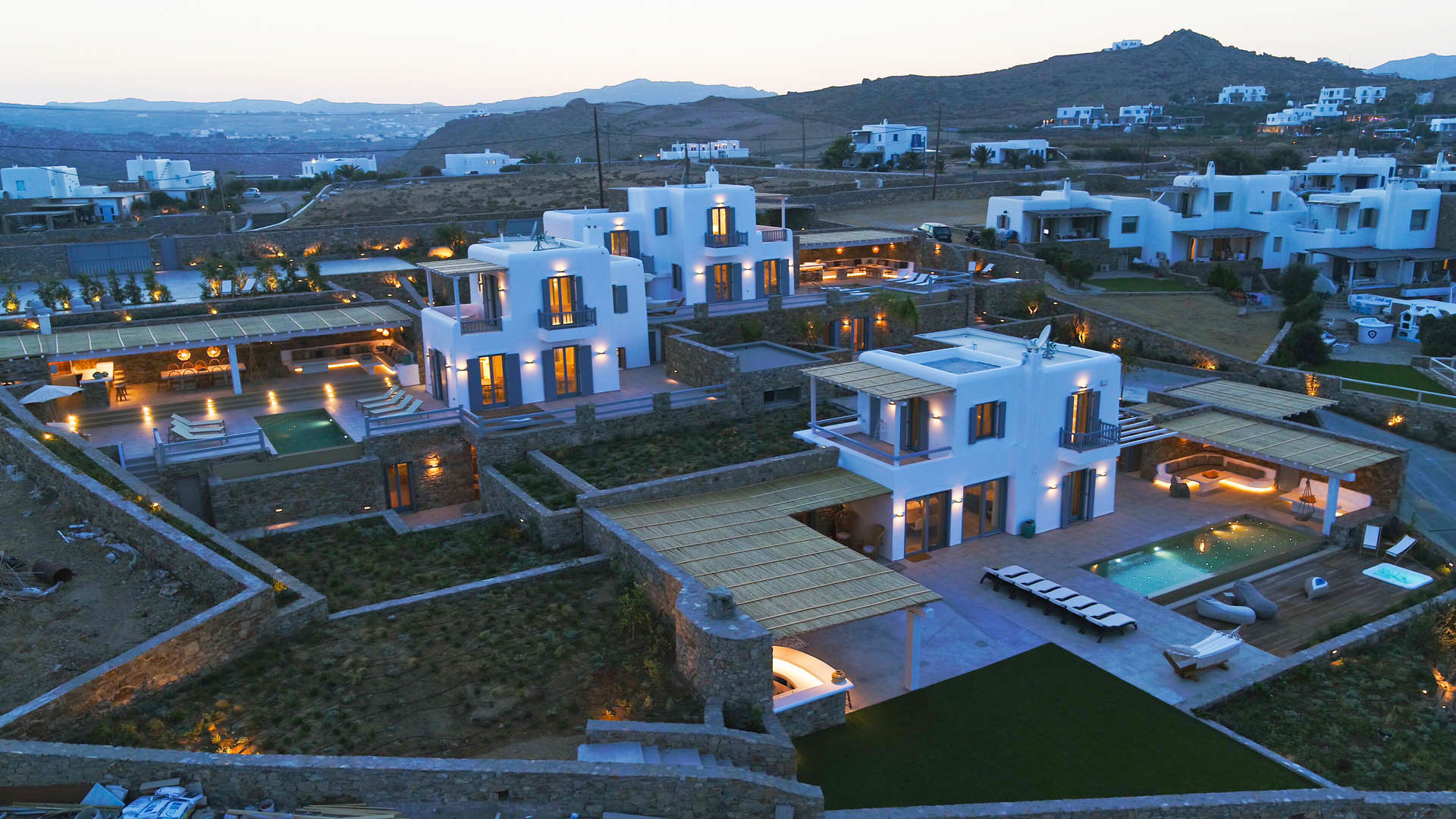 Luxury vacation rentals europe - Greece - Mykonos - Kalafatis - Villa Sunflower - Image 1/27