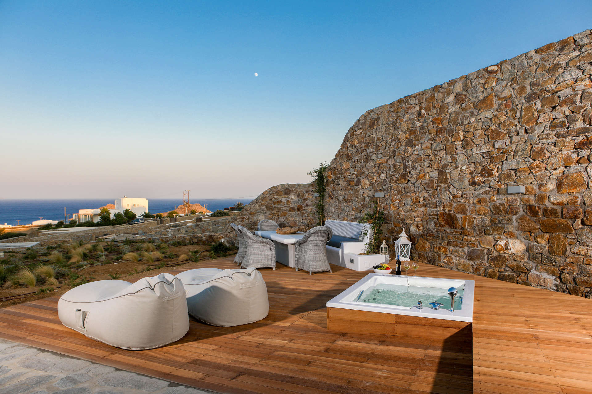 Luxury vacation rentals europe - Greece - Mykonos - Kalafatis - Annie House - Image 1/9