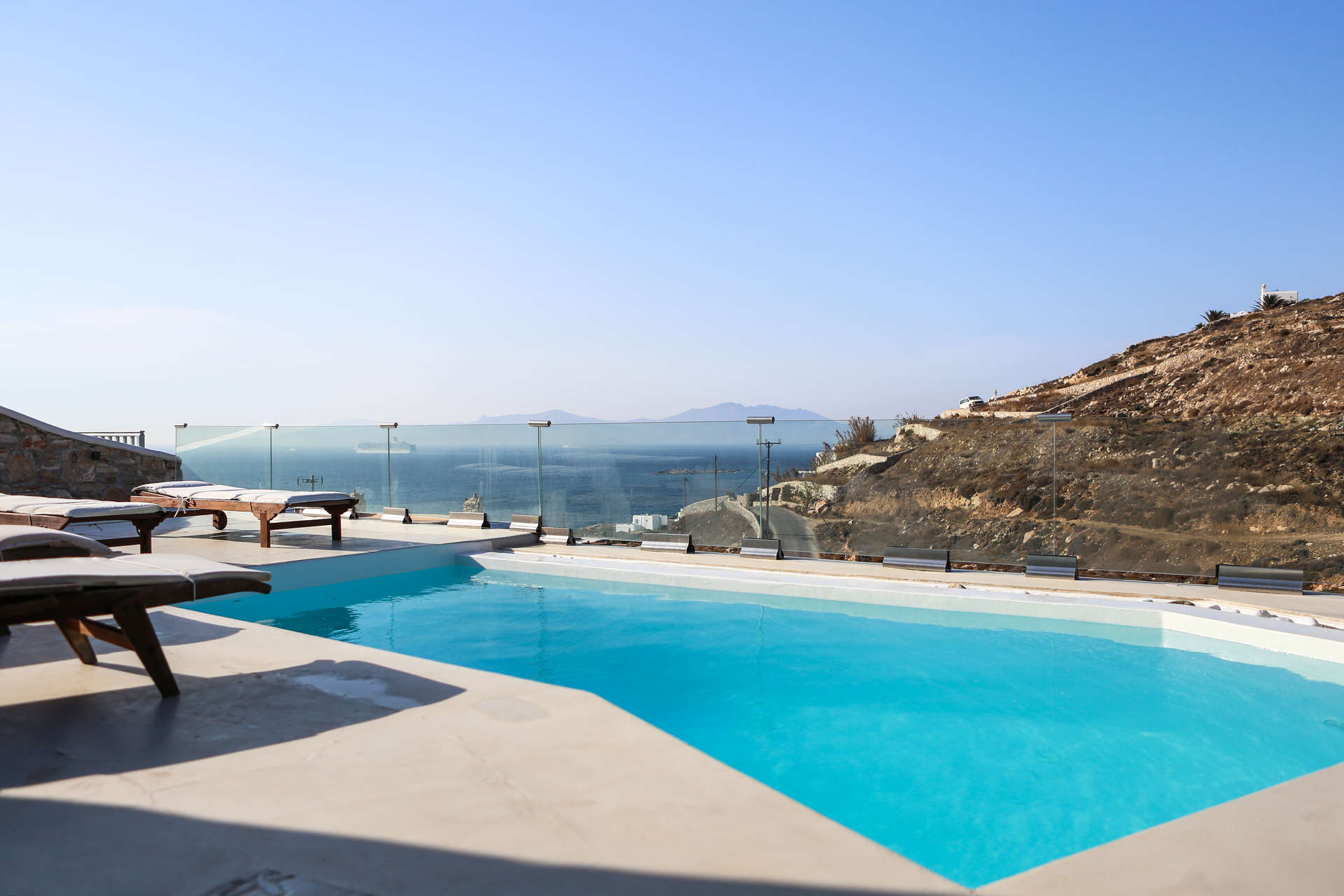 Luxury vacation rentals europe - Greece - Mykonos - Ornos - Villa Rea - Image 1/31