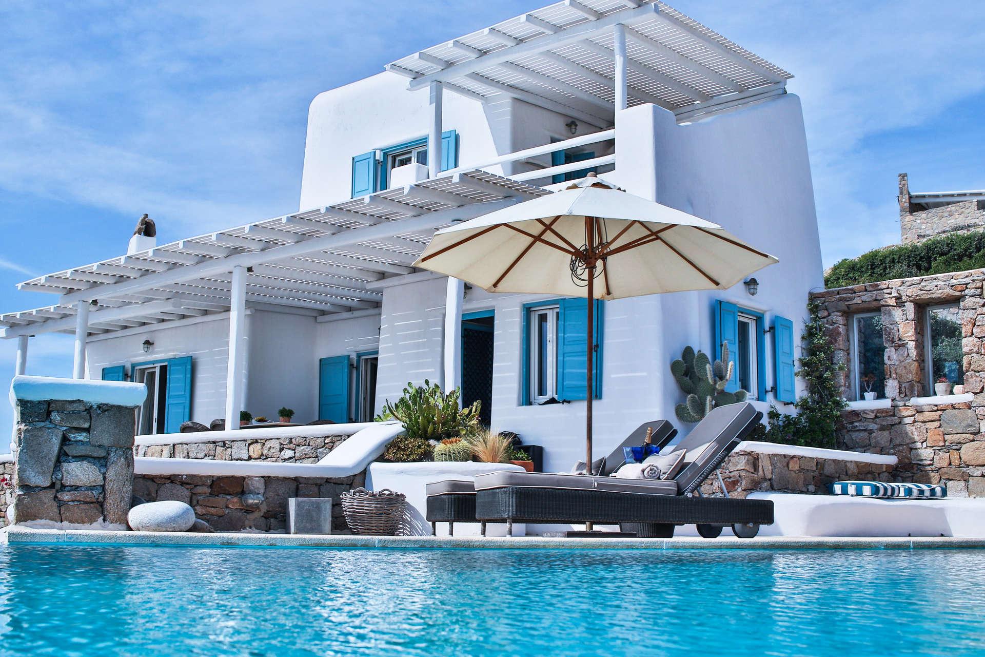 Luxury vacation rentals europe - Greece - Mykonos - Faros armenistis - Villa Sunshine | Mykonos - Image 1/31
