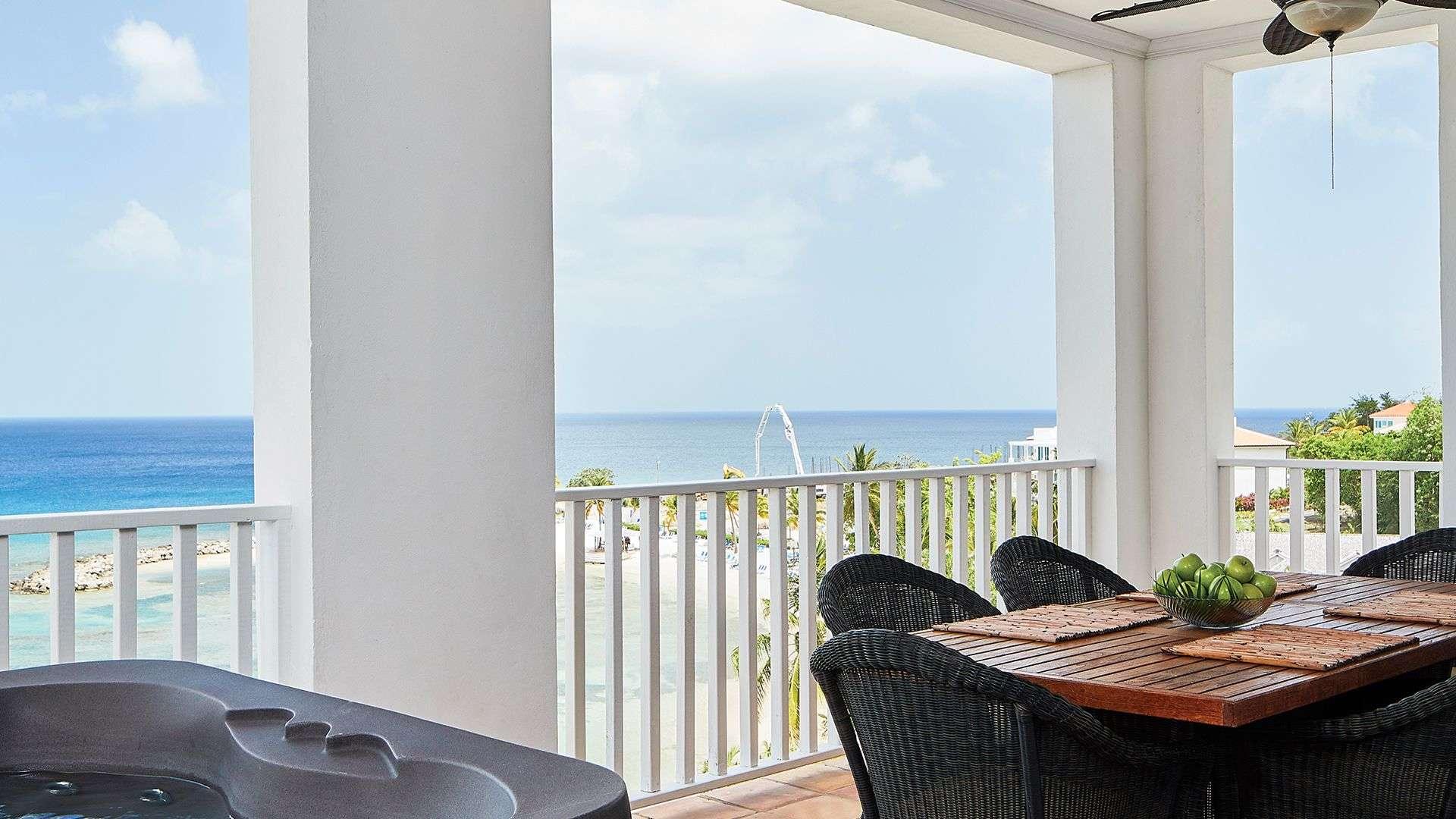 Luxury villa rentals caribbean - St lucia - Labrelotte bay - 1 Bedroom Oceanfront Suite | Windjammer Landing - Image 1/7