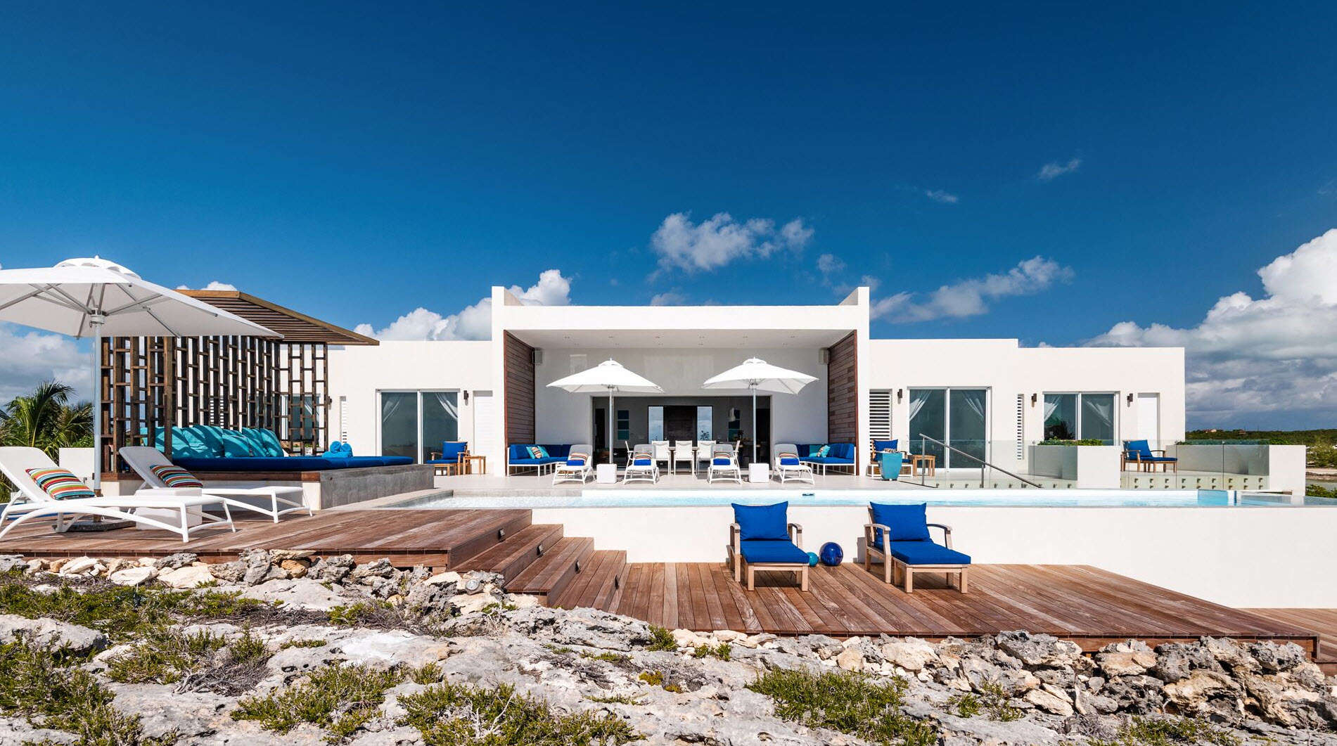 Luxury villa rentals caribbean - Turks and caicos - Providenciales - Turtle tail - Tip of the Tail Villa - Image 1/15