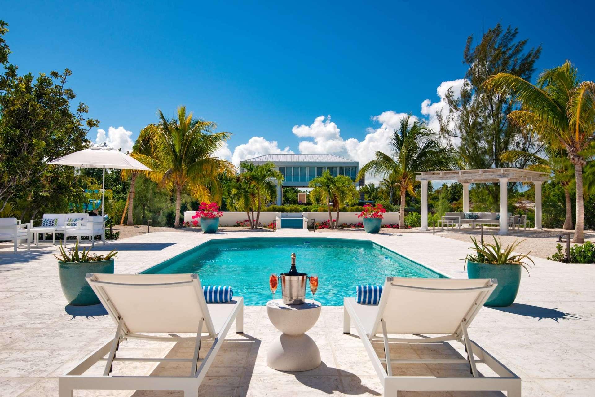 Luxury villa rentals caribbean - Turks and caicos - Providenciales - Leeward - Seagrace Villa - Image 1/18