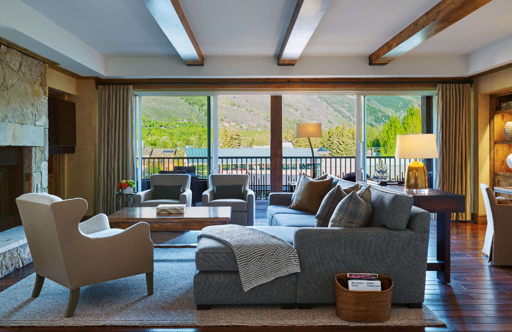 Luxury vacation rentals usa - Colorado - Aspen - 2 Bedroom Residences | The Little Nell - Image 1/11