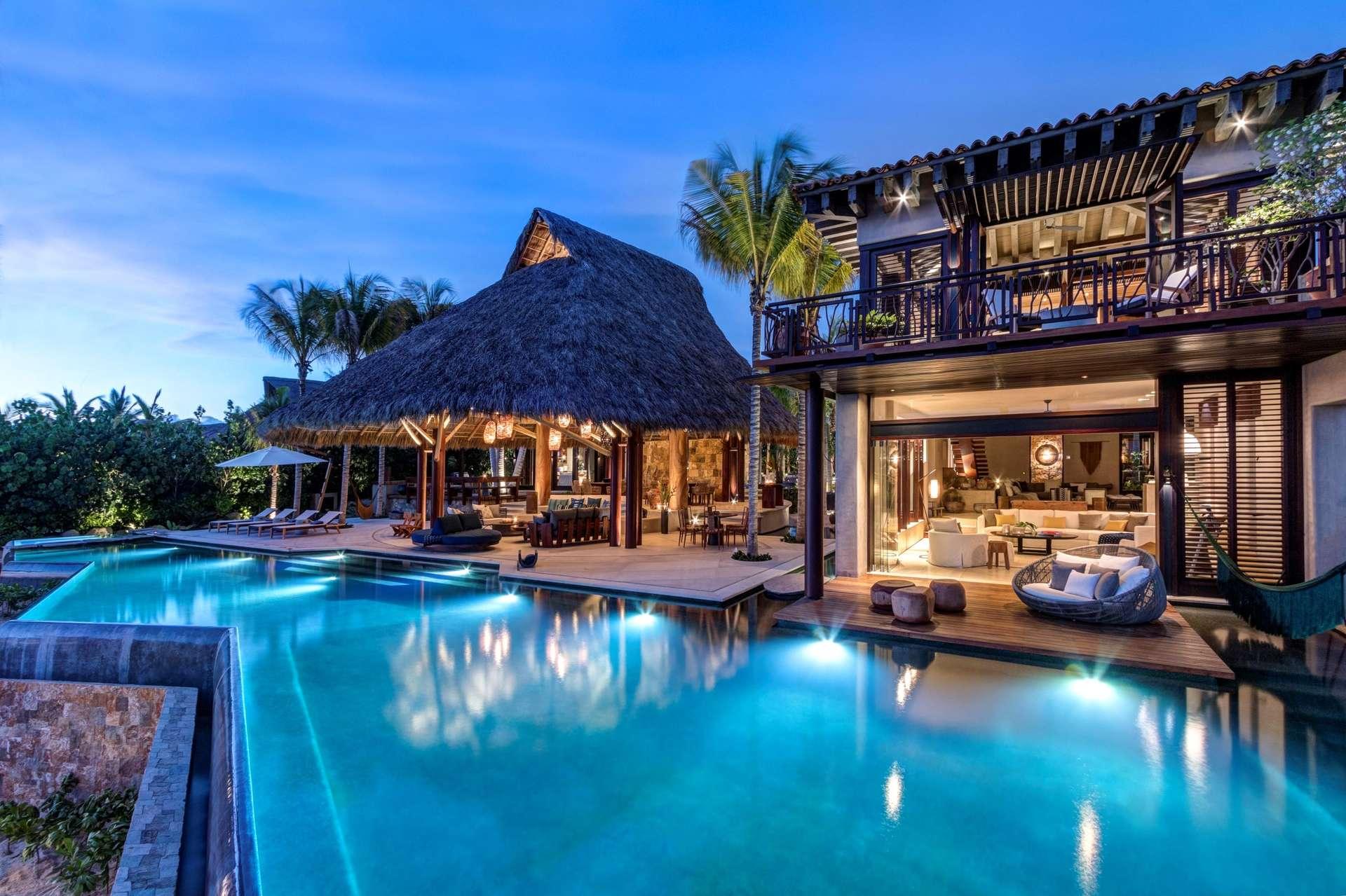 Luxury vacation rentals mexico - Punta mita - La punta estates - No location 4 - Casa Koko - Image 1/56