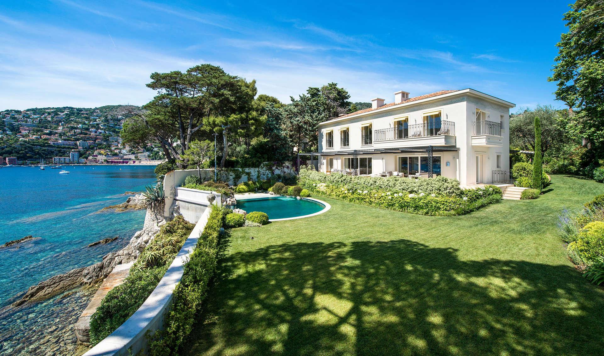 Luxury vacation rentals europe - France - Frenchriviera - Saint jean cap ferrat - Villa Espalmador - Image 1/17