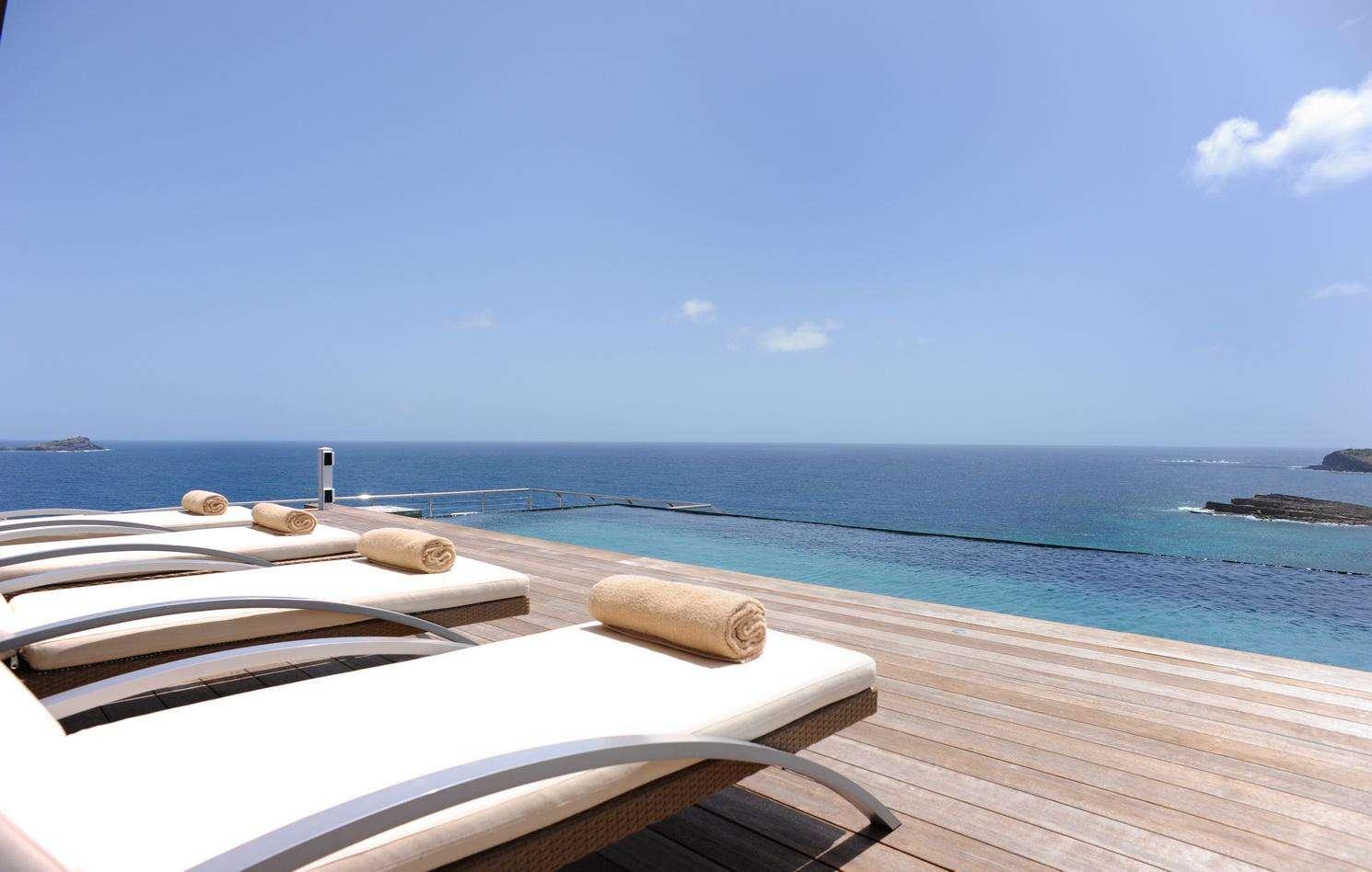 Luxury villa rentals caribbean - St barthelemy - Pointe milou - Seascape - Image 1/42