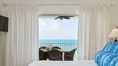 Two Bedroom Oceanfront Suite | Windjammer Landing