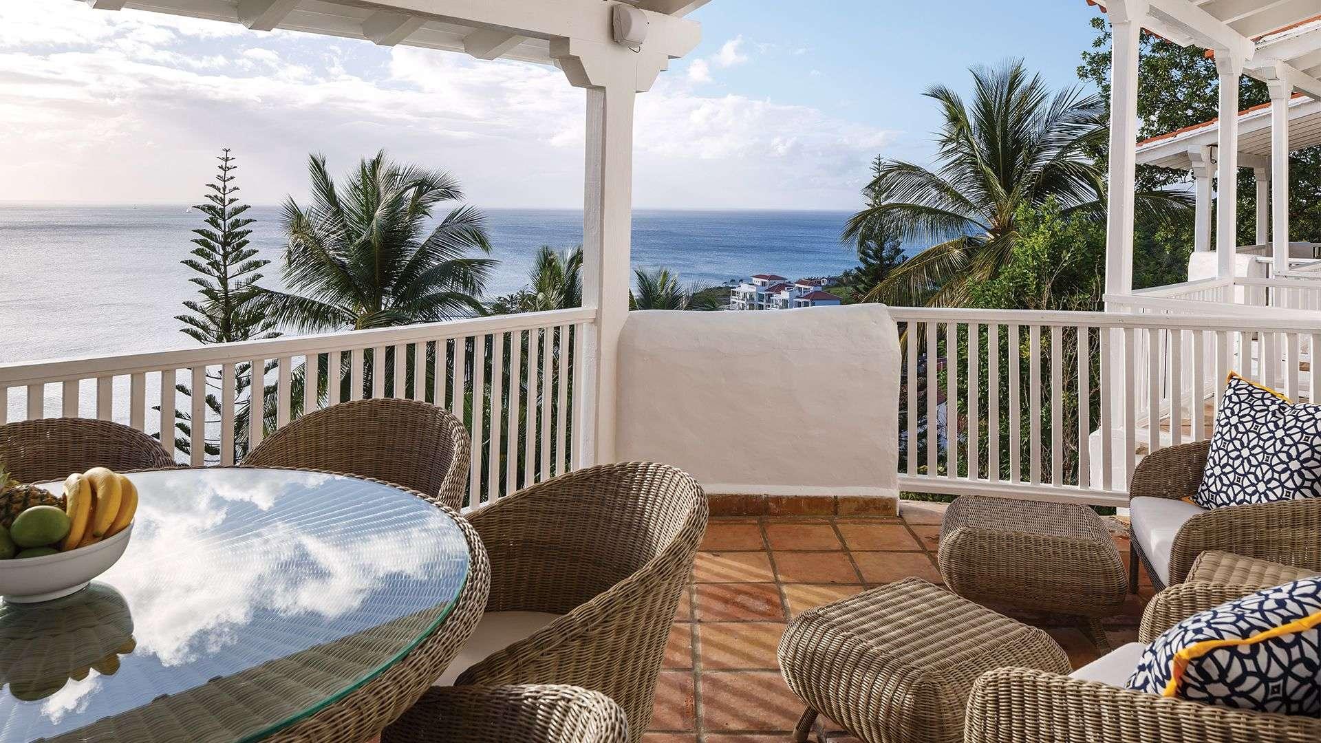 Luxury villa rentals caribbean - St lucia - Windjammer landing beach resort - No location 4 - Premium Three Bedroom Ocean View Villa - Image 1/14