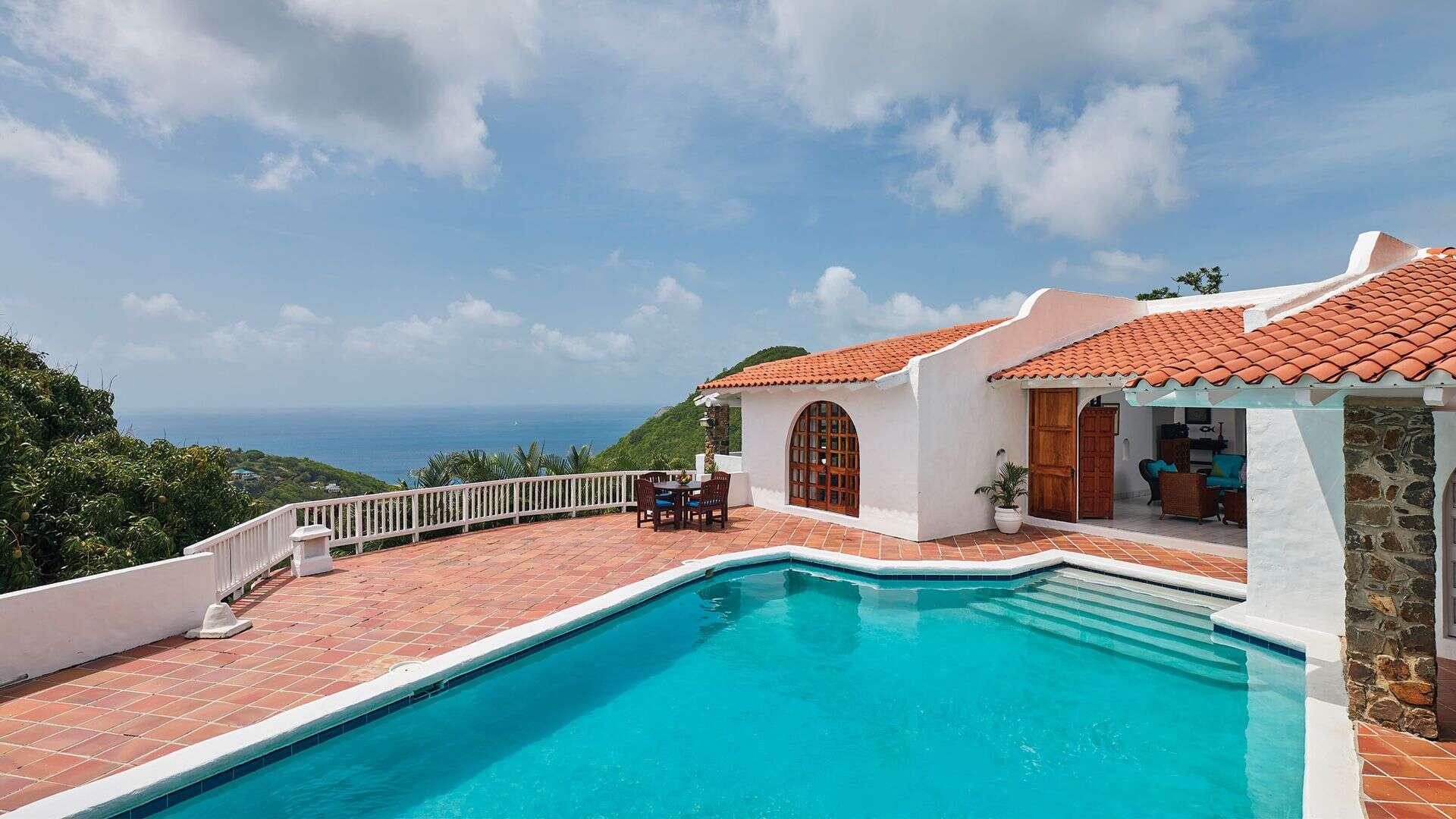 Luxury villa rentals caribbean - St lucia - Windjammer landing beach resort - No location 4 - Premium Four Bedroom Ocean View Villa - Image 1/16