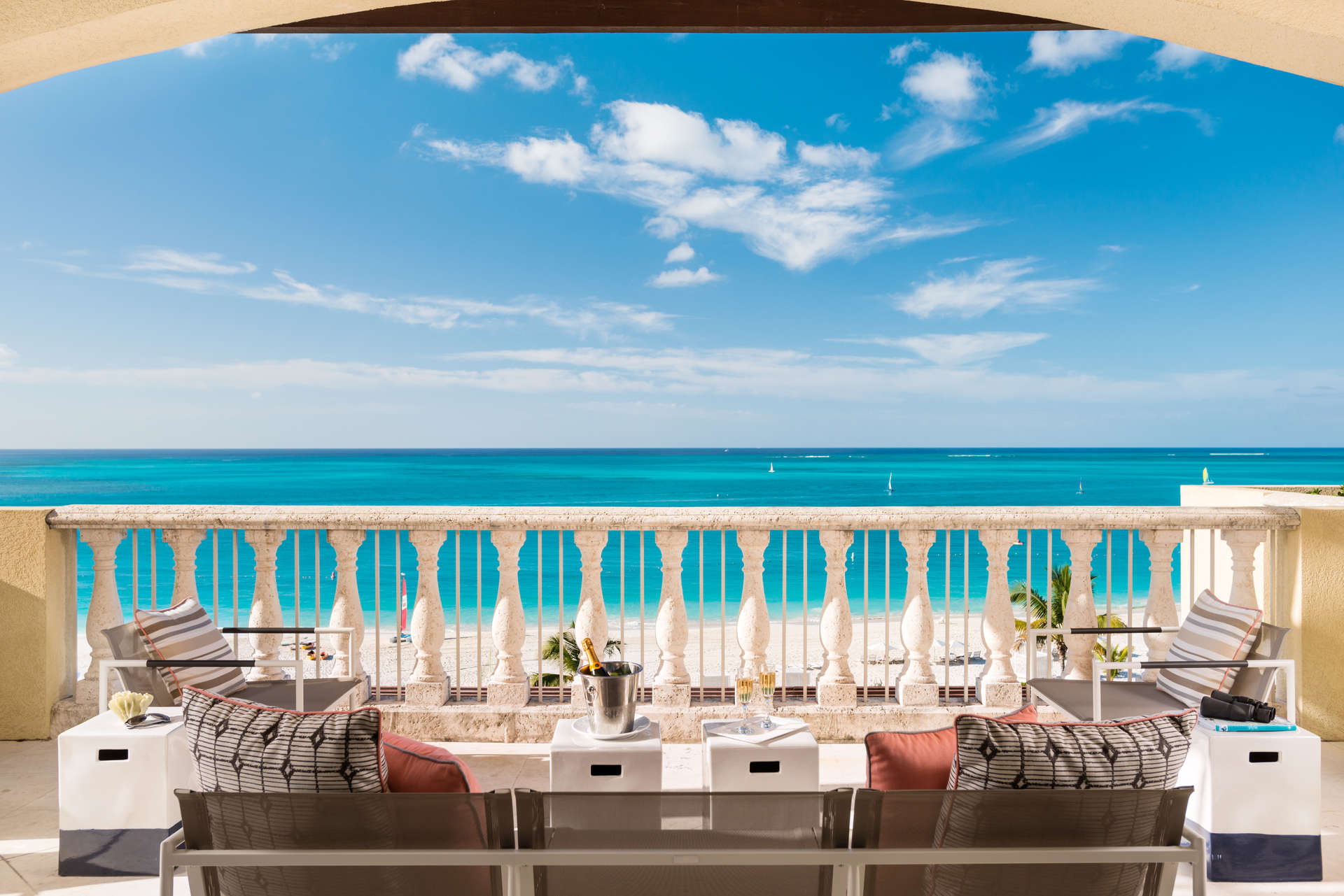 Luxury villa rentals caribbean - Turks and caicos - Providenciales - Grace bay club - Estate Beach Level Residence | 4 BDMS - Image 1/11