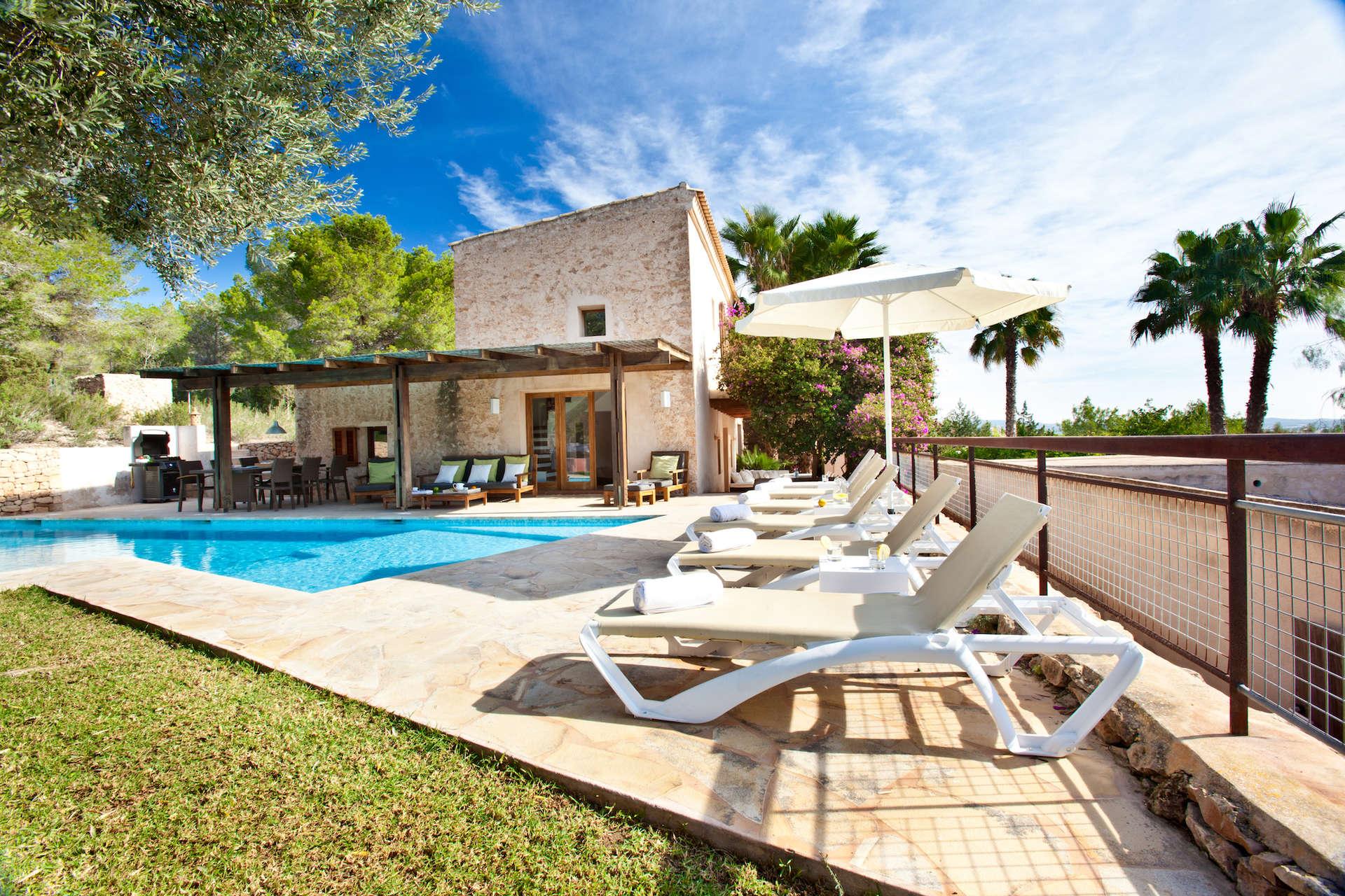 Luxury vacation rentals europe - Spain - Balearic islands ibiza - No location 4 - Can Cala Bassa - Image 1/34