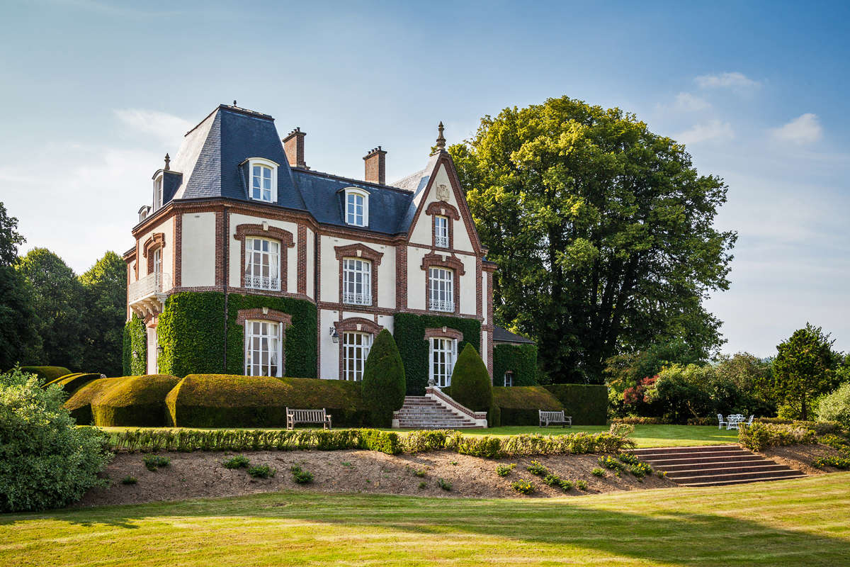 Luxury vacation rentals europe - France - Normandy - Seine maritimefrance - Chateau La Rosiere - Image 1/27