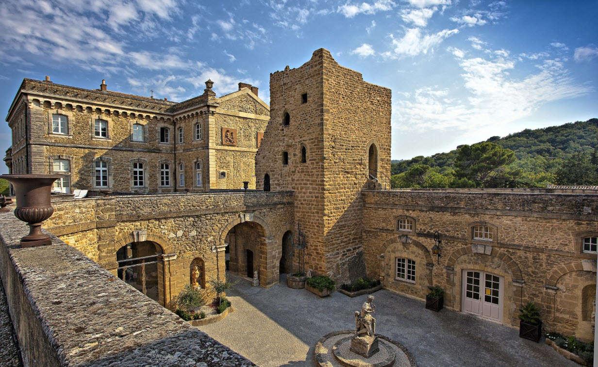 Luxury vacation rentals europe - France - Provence ih - Bollene provence - Chateau de la Harpe - Image 1/46