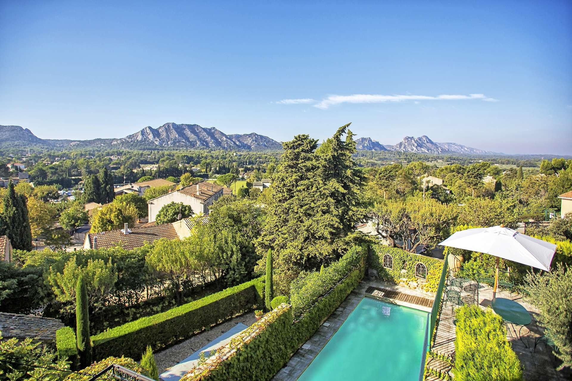 Luxury vacation rentals europe - France - Provence ih - Saint remy de provence - Terrasse des Alpilles - Image 1/24