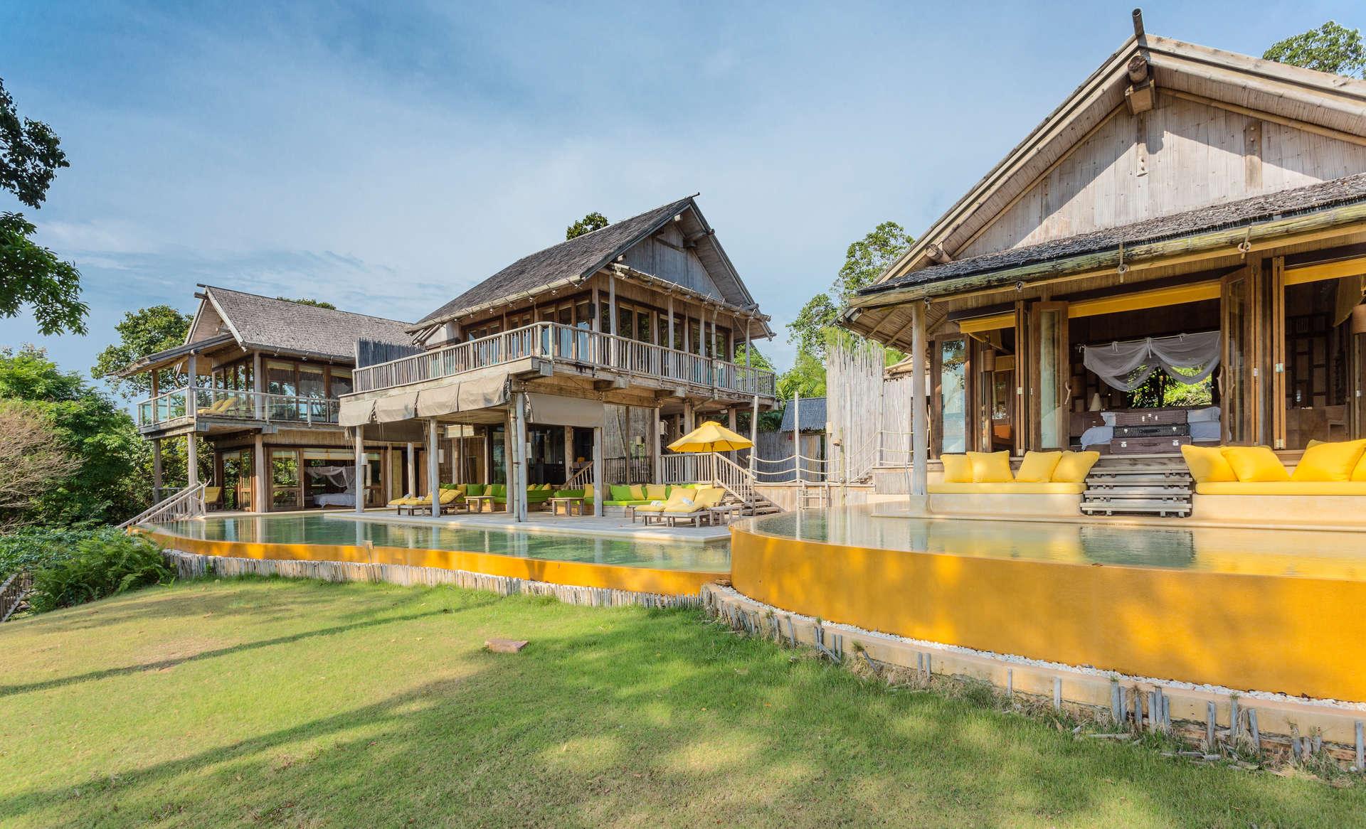 Luxury villa rentals asia - Thailand - Ko kut - Soneva kiri resort - Sunset Ocean View Pool Reserve | 5 BDMS - Image 1/27