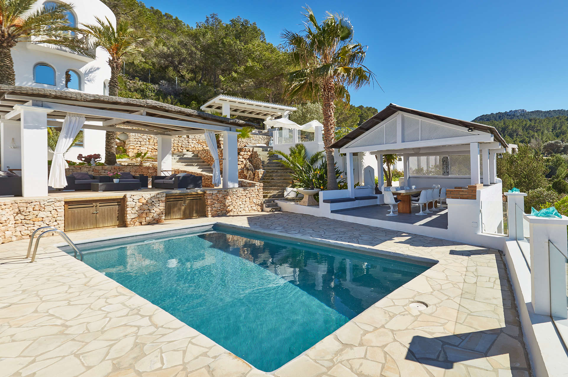Luxury vacation rentals europe - Spain - Balearic islands ibiza - No location 4 - Villa Michaela - Image 1/29