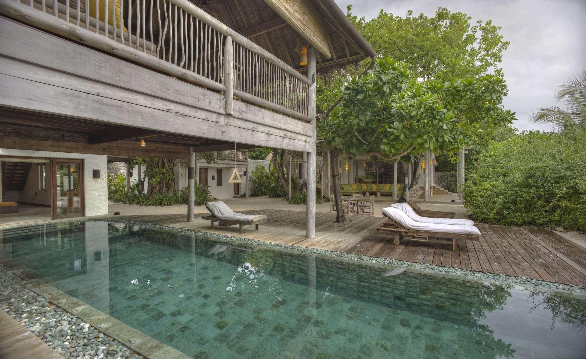 Luxury villa rentals asia - Maldives - Kunfunadhoo island - Soneva fushiresort - Sunrise Retreat - Image 1/26