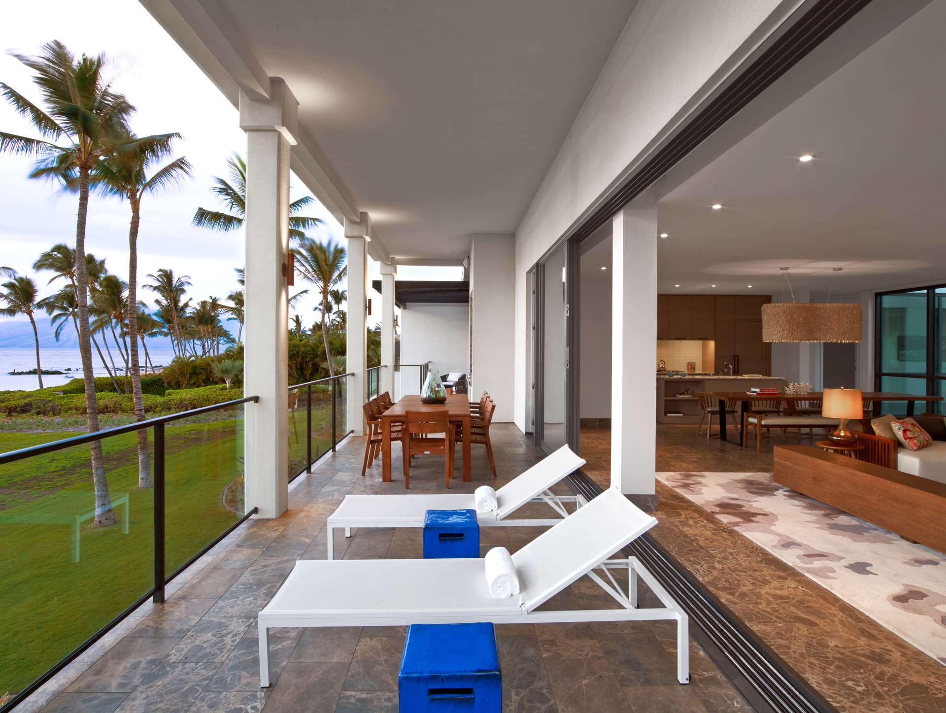 Luxury vacation rentals usa - Hawaii - Maui - Andaz maui wailea resort - Oceanfront Villa | 3 Bedrooms - Image 1/6