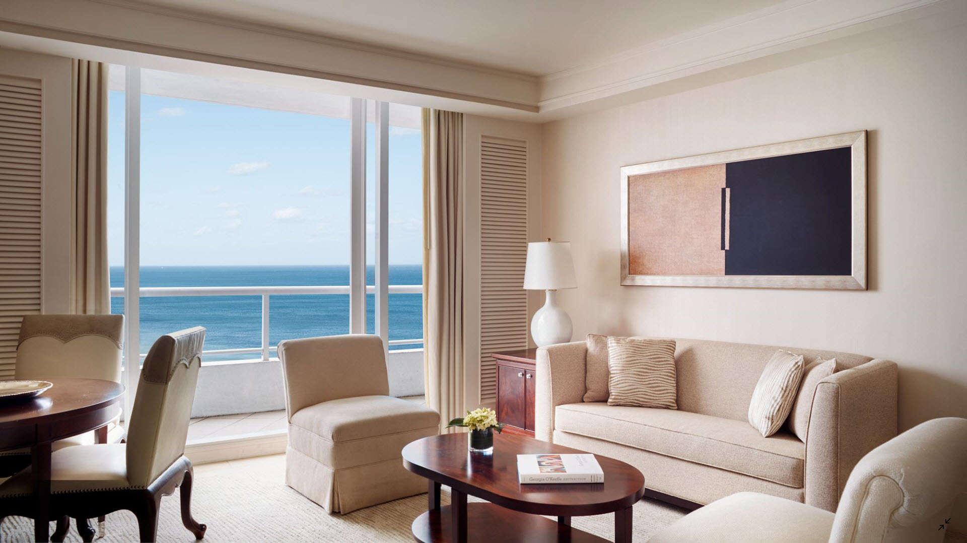 Luxury vacation rentals usa - Florida - Fort lauderdale - The ritz carlton fortlauderdale - 1 BDM Oceanfront Residential - Image 1/8