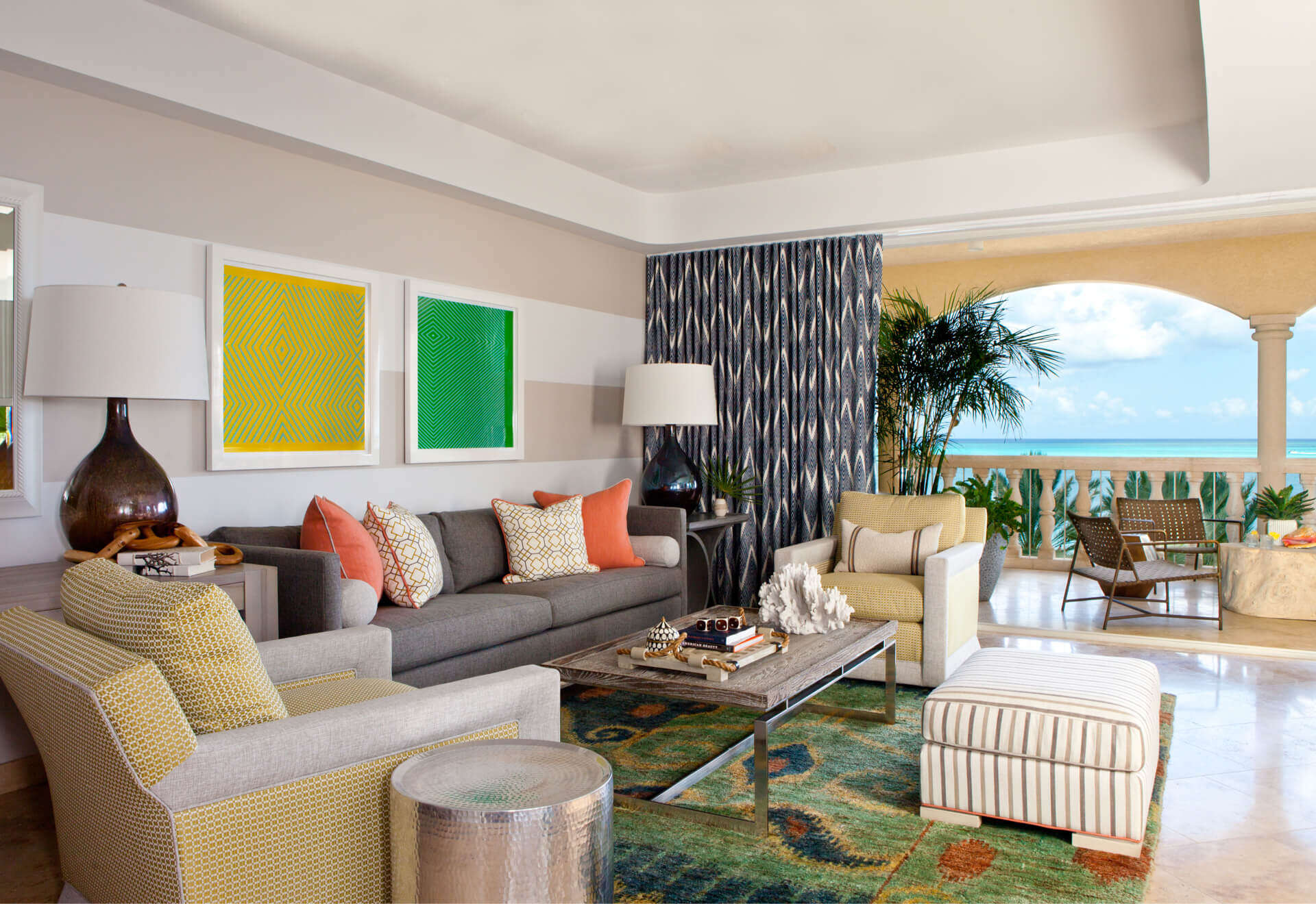 - The Villas | Grace Bay 3 BDM Suite - Image 1/5