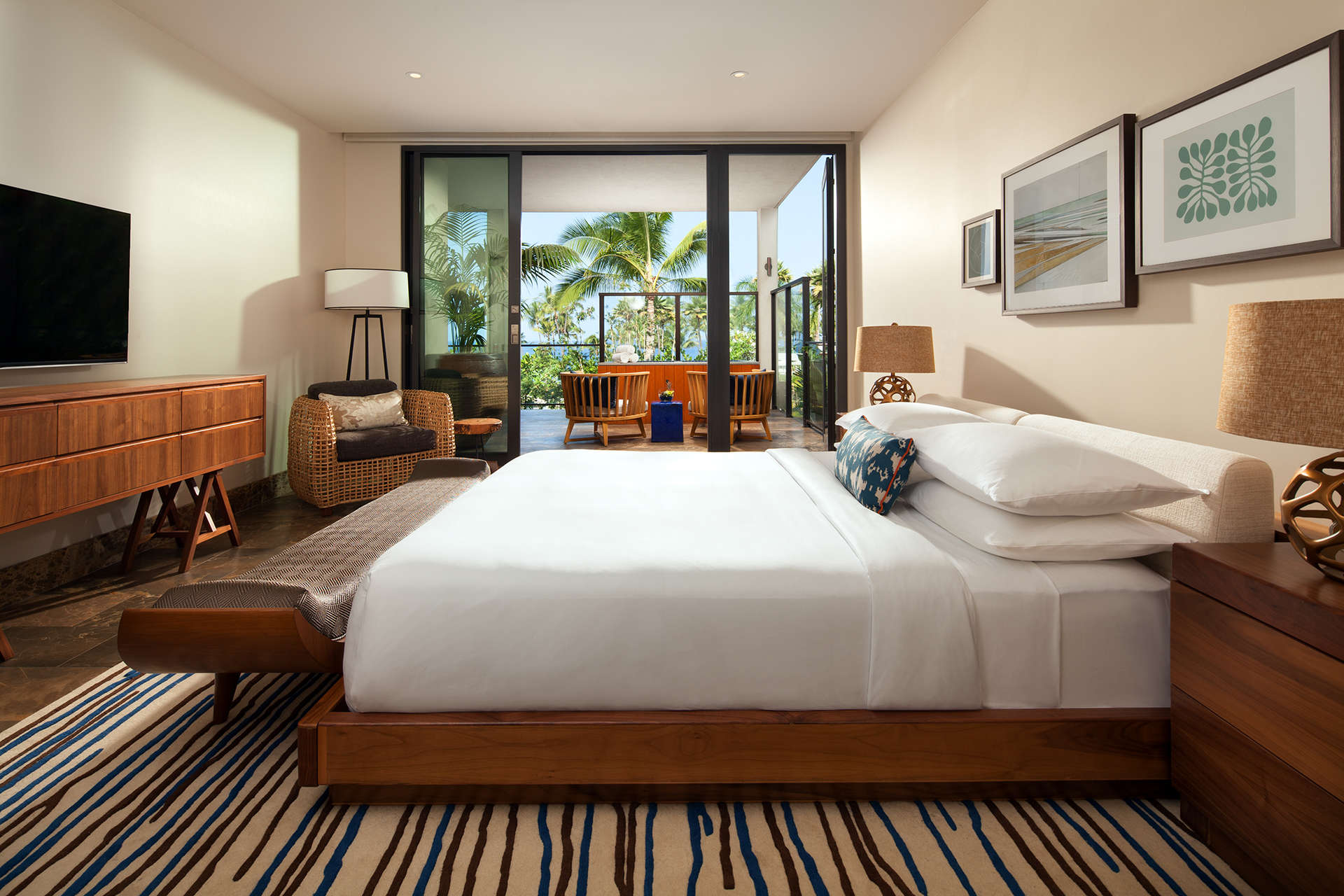 Luxury vacation rentals usa - Hawaii - Maui - Andaz maui wailea resort - Ocean View Villa | 3 Bedrooms - Image 1/5