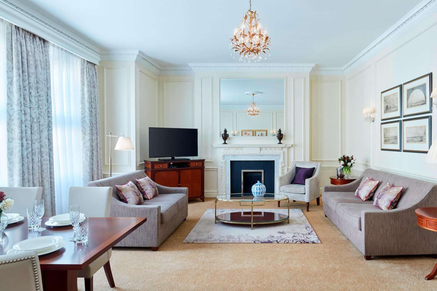 Luxury vacation rentals europe - United kingdom - London area - Grand residences by marriott mayfair - Deluxe 1 BDM - Image 1/8