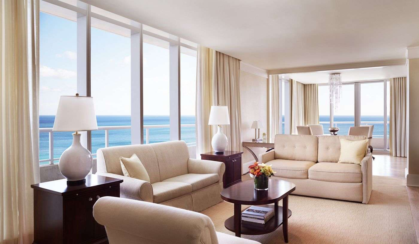 Luxury vacation rentals usa - Florida - Fort lauderdale - The ritz carlton fortlauderdale - The Ritz Carlton Suite - Image 1/7