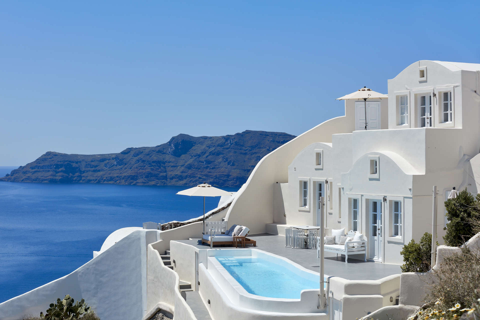 Luxury vacation rentals europe - Greece - Santorini - Canaves oia - Canaves Oia Santorini Villa - Image 1/10
