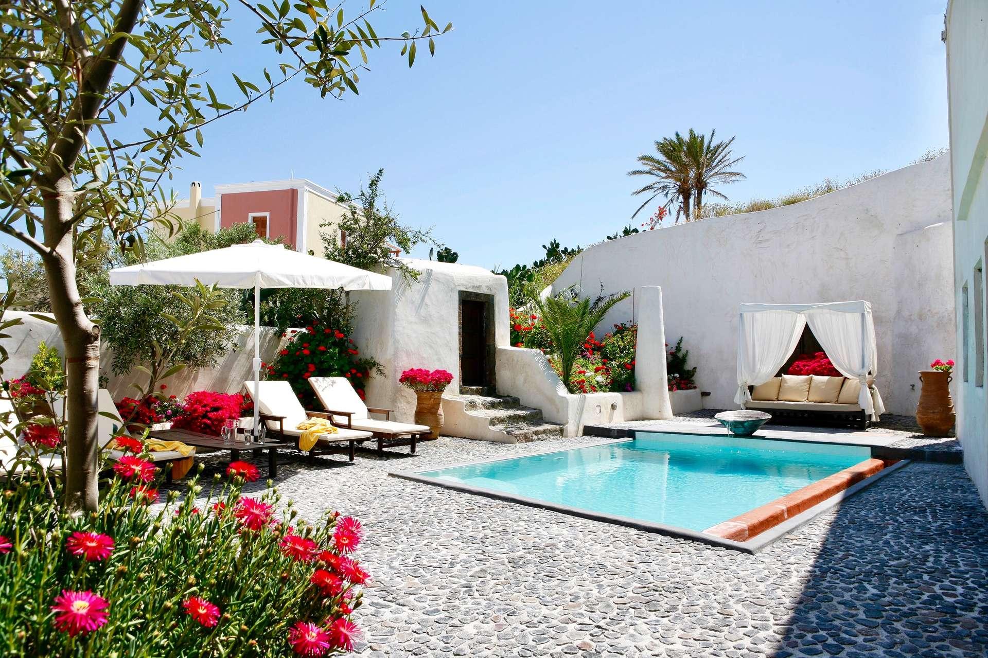 Luxury vacation rentals europe - Greece - Santorini - Megalochori - Sophia Mansion - Image 1/13