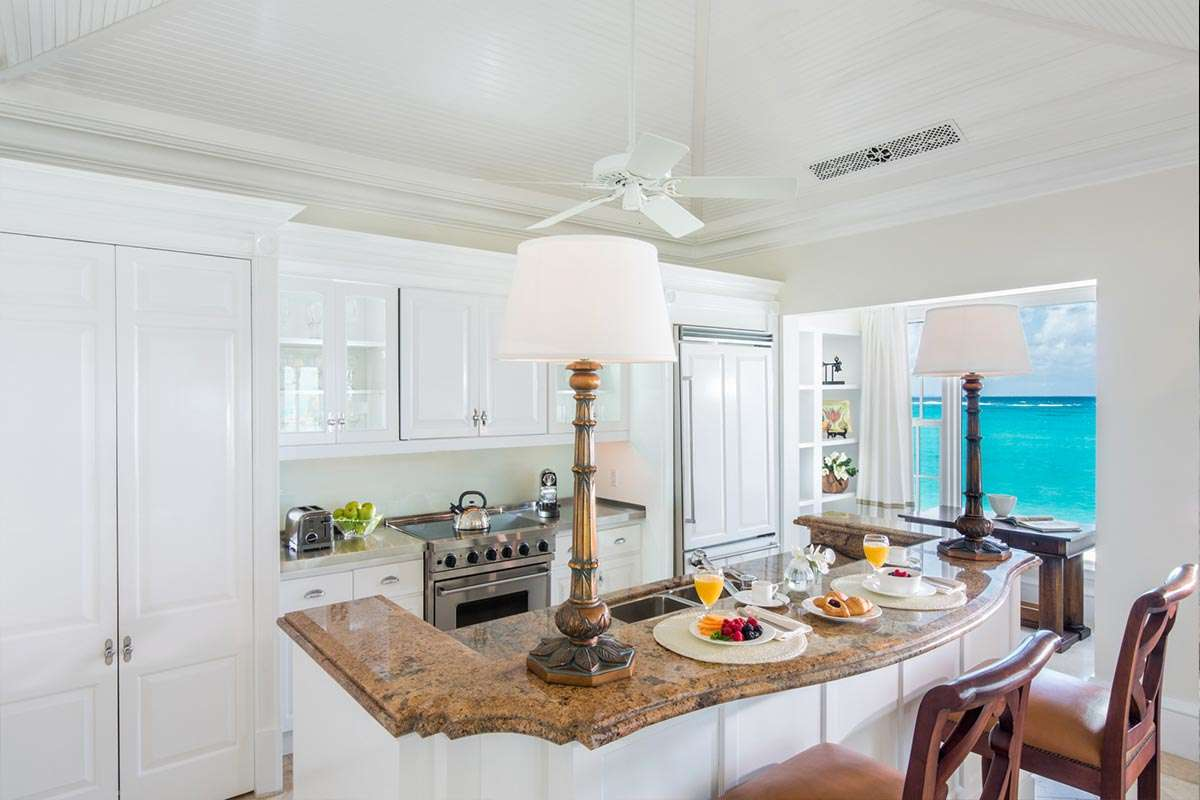 Luxury villa rentals caribbean - Turks and caicos - Providenciales - The palms turks and caicos - 1 BM Ocean View - Image 1/10