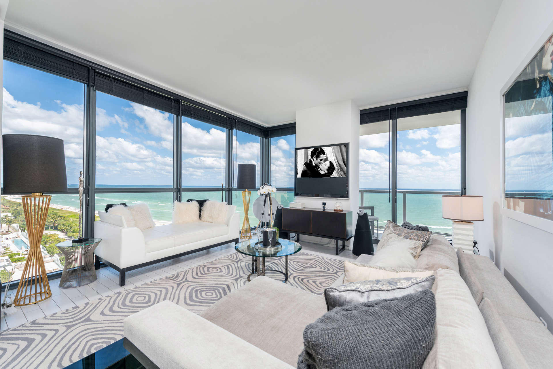 Luxury vacation rentals usa - Florida - Miami beach - W hotel south beach - 3 BDM Private Oceanfront - Image 1/18