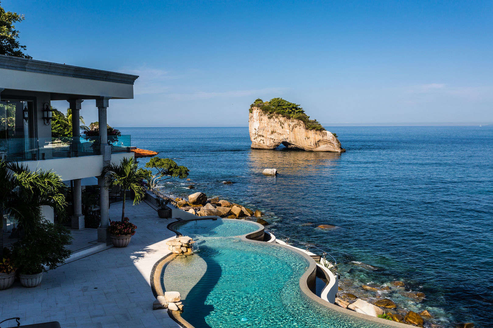 Luxury vacation rentals mexico - Puerto vallarta - Mismaloya beach - No location 4 - Casa Nautica - Image 1/24