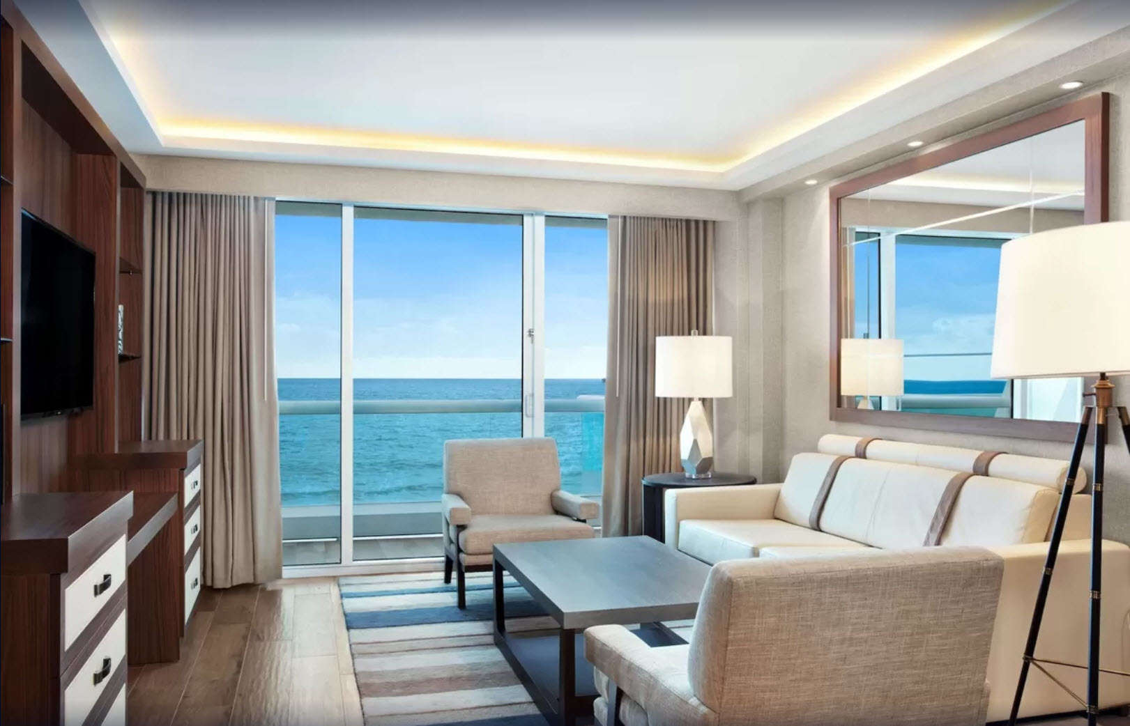 Luxury vacation rentals usa - Florida - Fort lauderdale - Conrad fort lauderdale beach - 1 BDM Oceanfront - Image 1/9