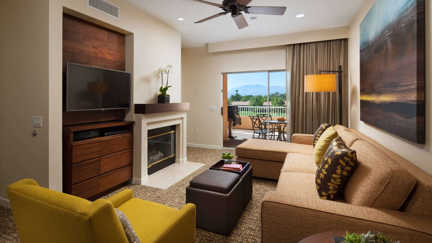 Luxury vacation rentals usa - California - Palm springs - The westin mission hills - 1 BDM Villa - Image 1/11