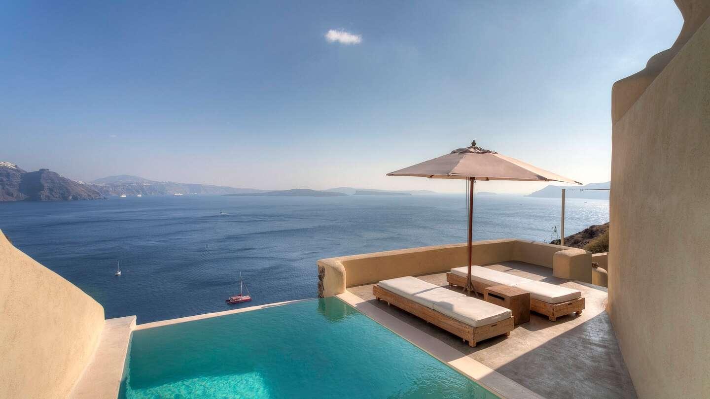 Luxury vacation rentals europe - Greece - Santorini - Mystique hotel marriott - Air of Mystery - Image 1/13