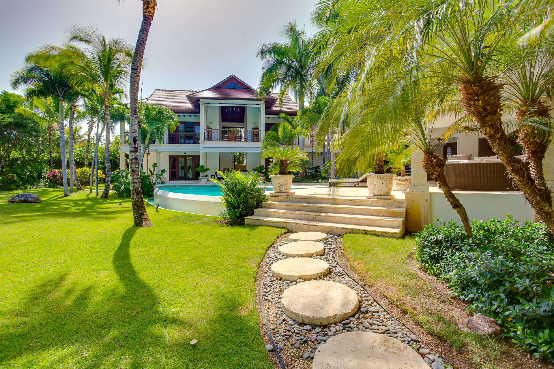 Luxury villa rentals caribbean - Dominican republic - Punta cana - Punta cana resort and club - The Colonial Helena - Image 1/30