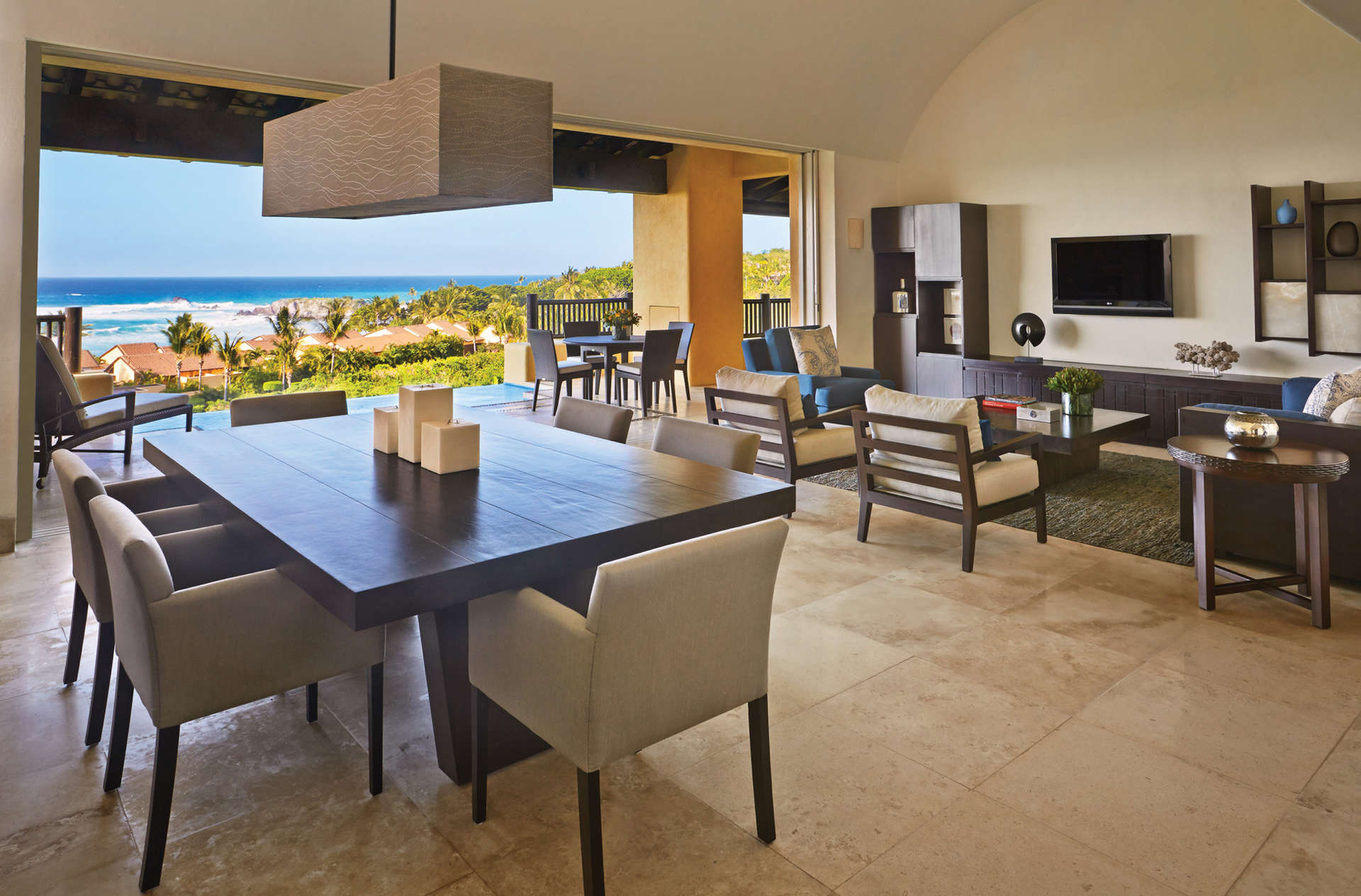 Luxury vacation rentals mexico - Punta mita - Four seasons punta mita - Penthouse Ocean View 4 BRM - Image 1/5