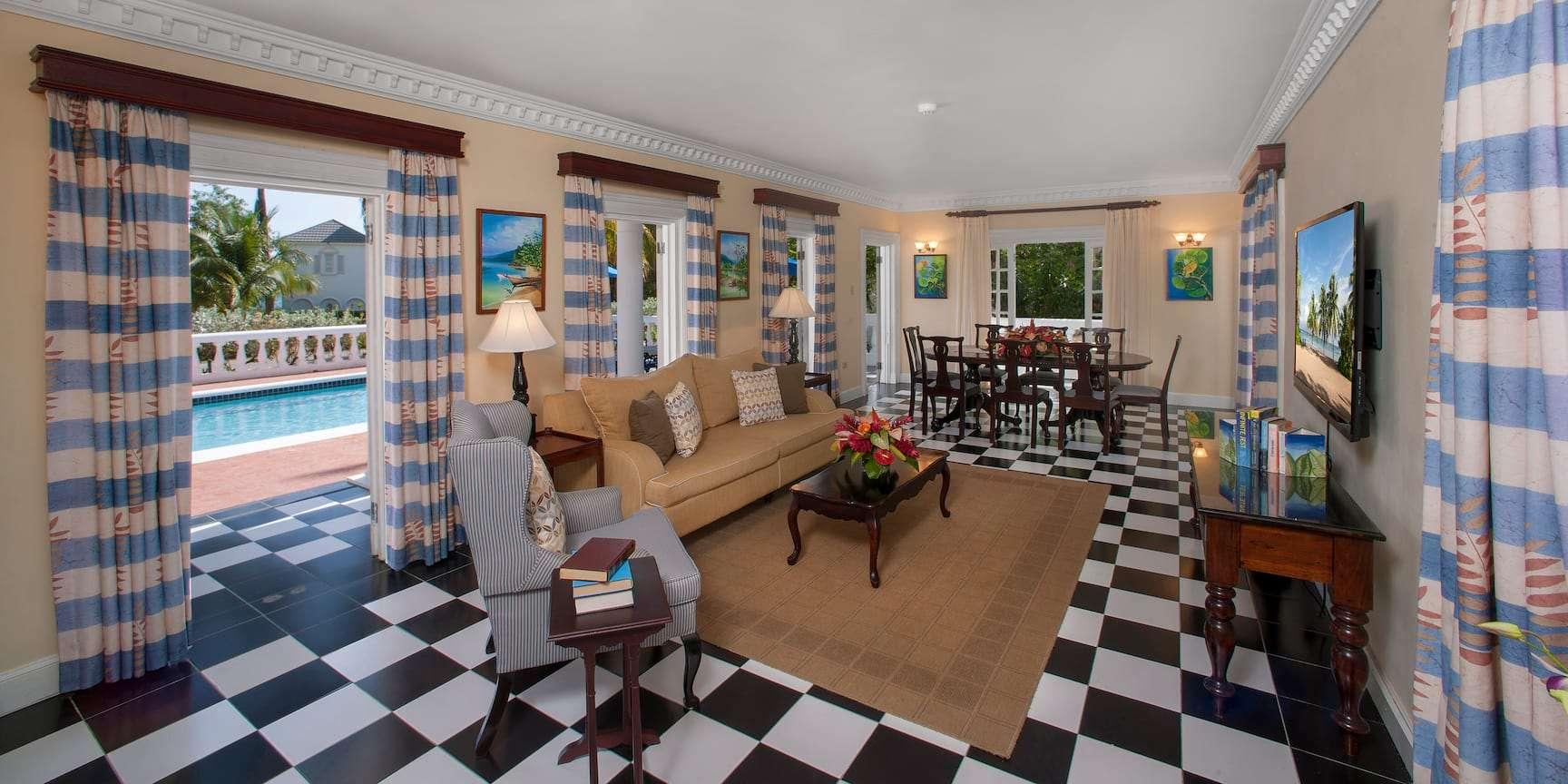 Luxury villa rentals caribbean - Jamaica - Montego bay - Half moon resort - 6 BDM Garden Villa - Image 1/14
