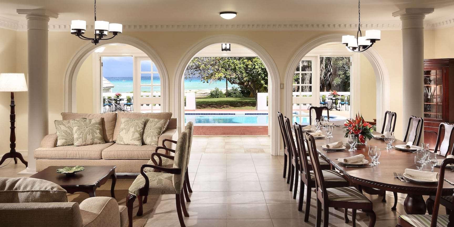 Luxury villa rentals caribbean - Jamaica - Montego bay - Half moon resort - 6 BDM Oceanfront Villa - Image 1/11
