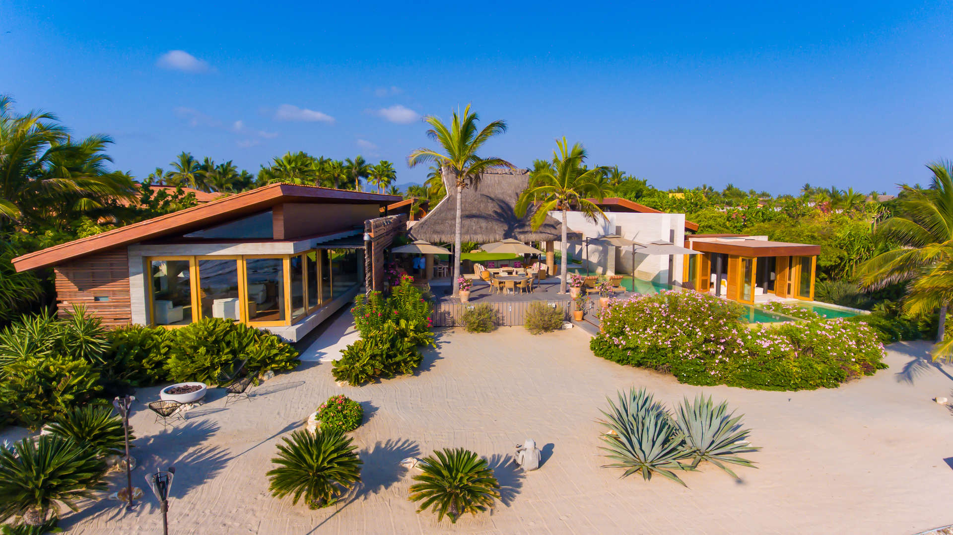 Luxury vacation rentals mexico - Punta mita - La punta estates - Villa Samba - Image 1/11