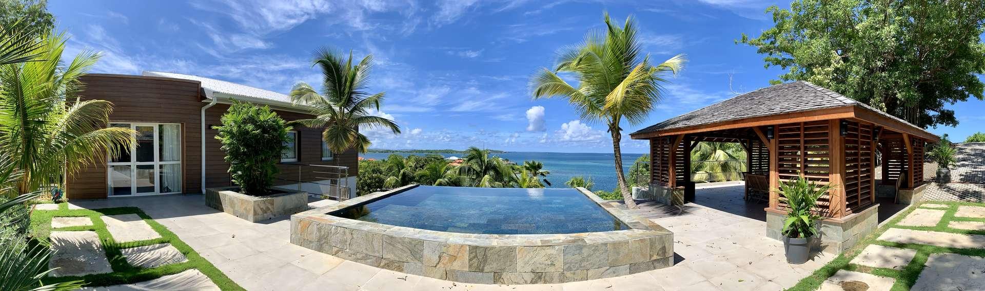 Luxury villa rentals caribbean - Martinique - Le francois - No location 4 - Villa Coralie - Image 1/21