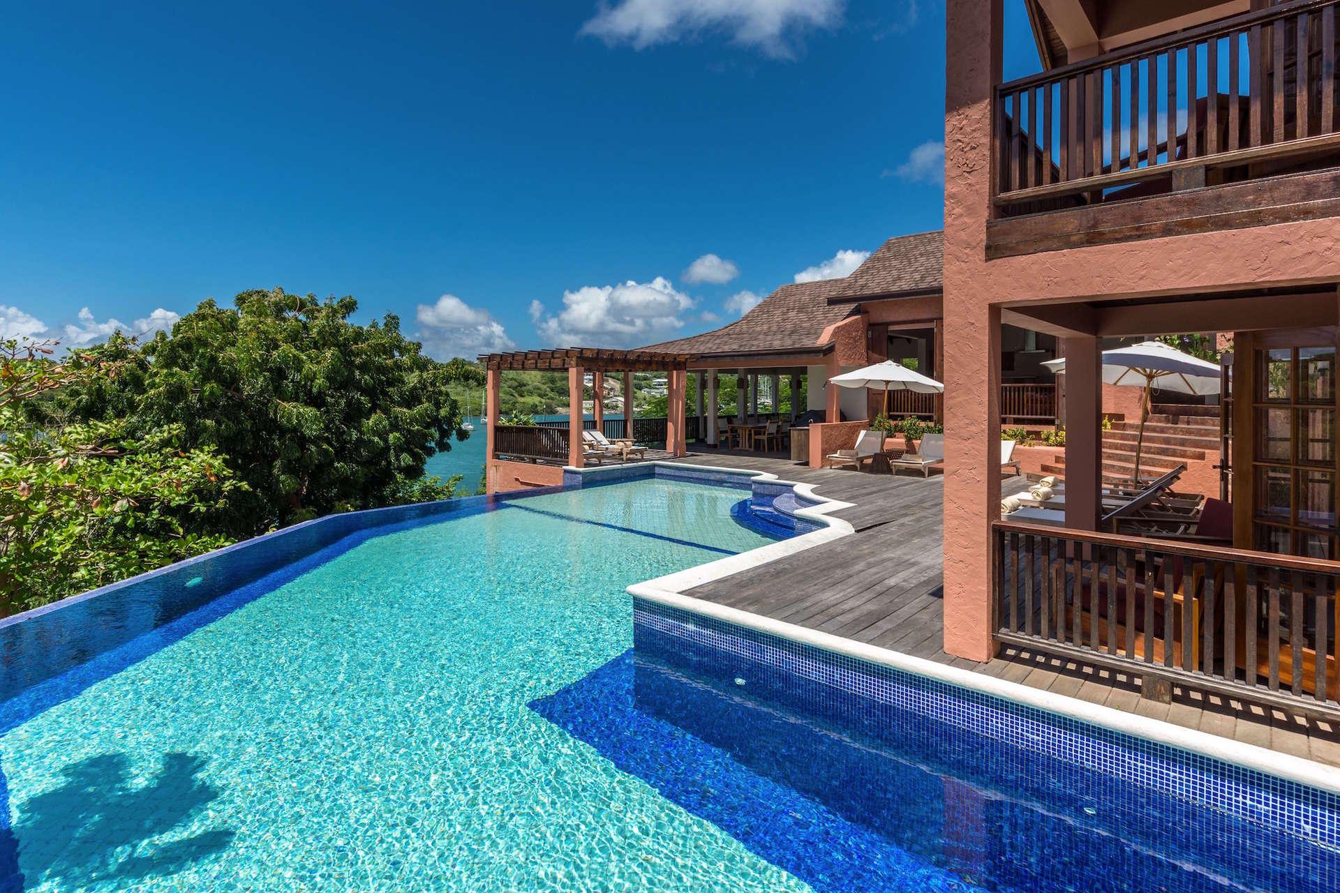 Luxury villa rentals caribbean - Grenada - Lanse aux epines - Calabash hotel - Pool House - Image 1/5