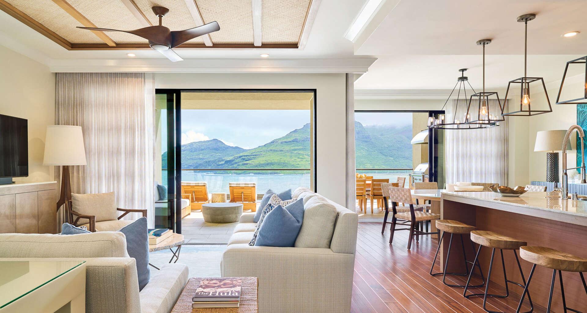 Luxury vacation rentals usa - Hawaii - Kauai - Hokuala kauai - Kaiholo 4 BDM Ocean View - Image 1/9