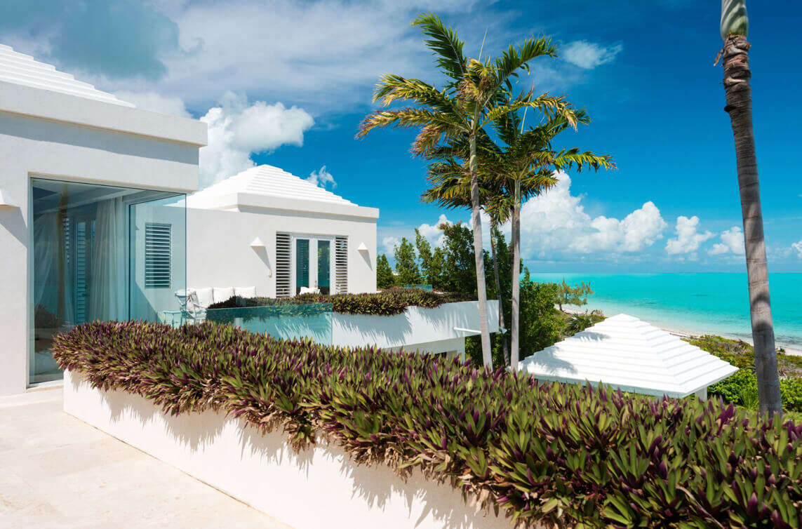 Luxury villa rentals caribbean - Turks and caicos - Providenciales - Long bay - Lidija House - Image 1/18