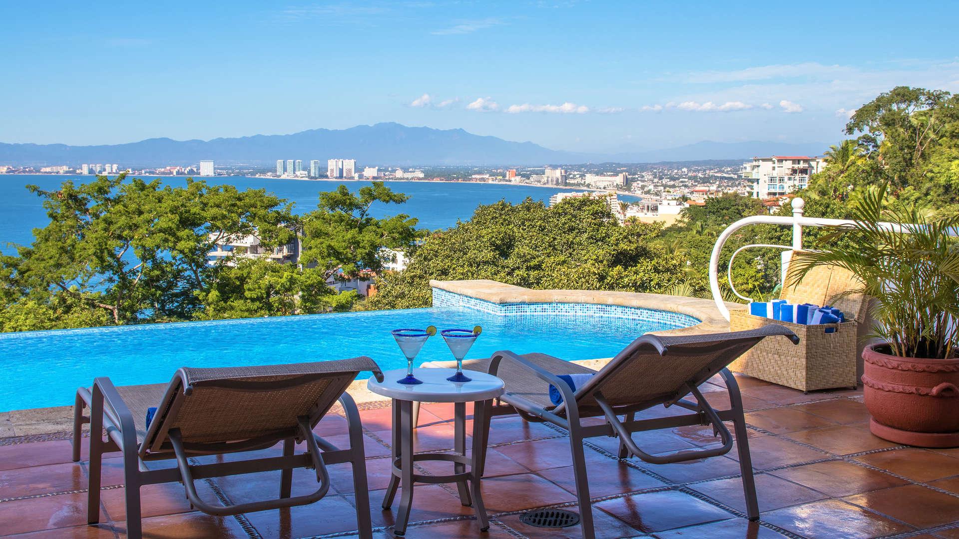 Luxury vacation rentals mexico - Puerto vallarta - Conchas chinas - No location 4 - Casa La Palma - Image 1/21