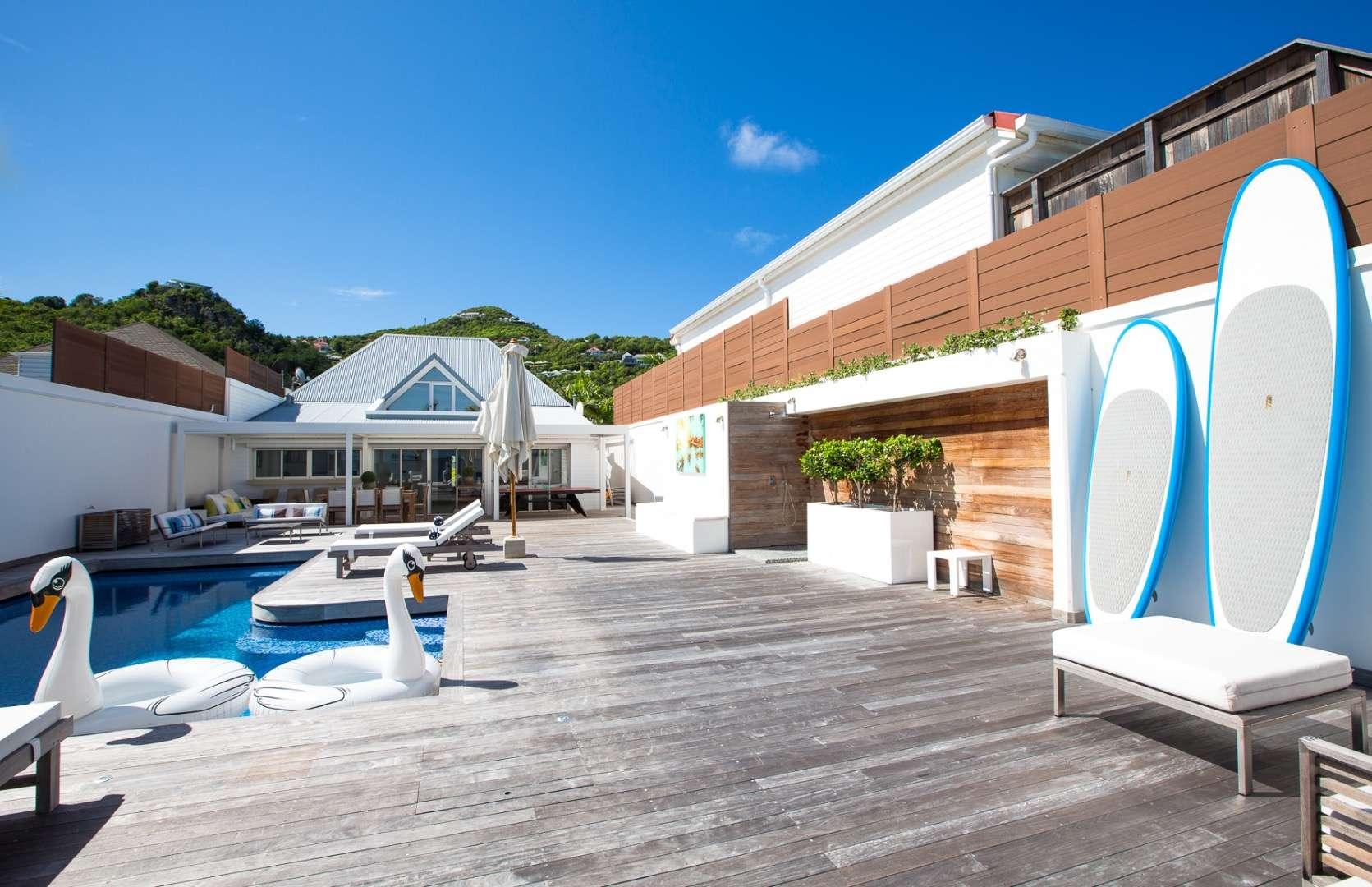 Luxury villa rentals caribbean - St barthelemy - Flamands - Ganesha - Image 1/15